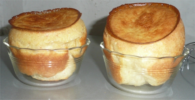 Popovers in Pyrex
